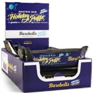barabells proteinbars låda