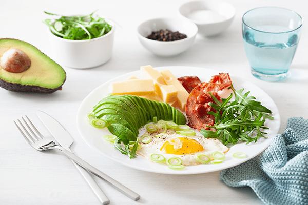 keto diet frukost