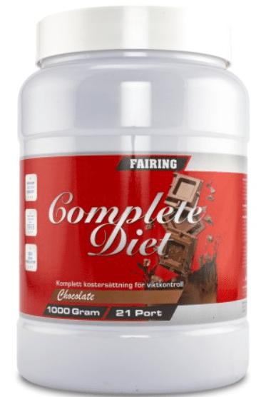 fairing dieting komplett måltidsersättare
