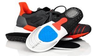 löparsulor och skoinlägg för bästa löpning