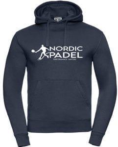 nordic padel hoodie herr