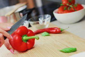 röd paprika bantningsmat